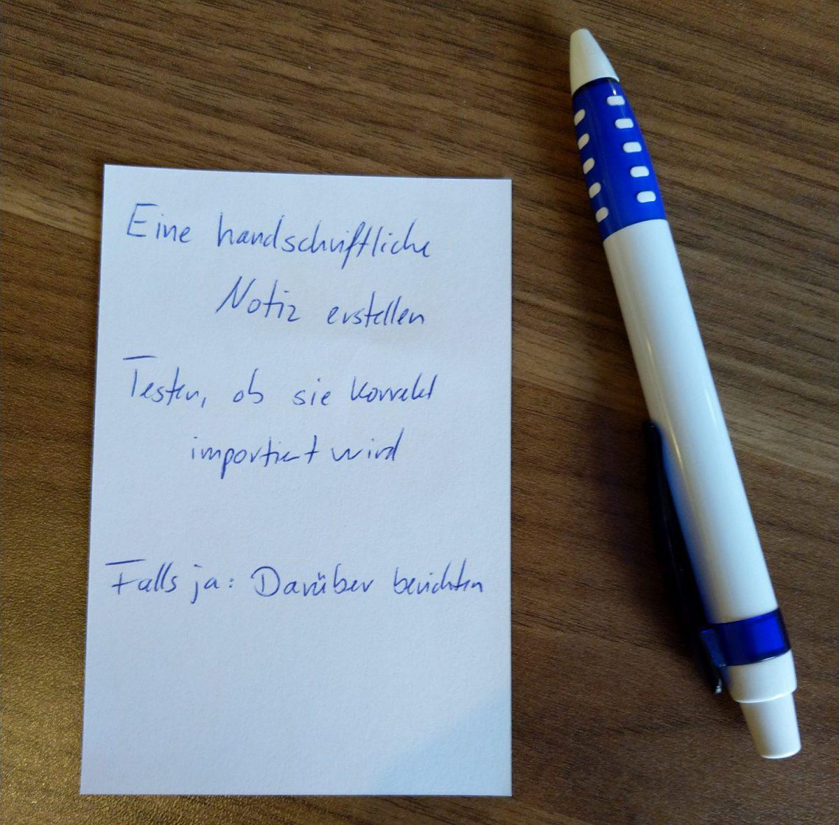 Kurz notiert: Todoist (Beta) importiert handschriftliche Todo-Listen
