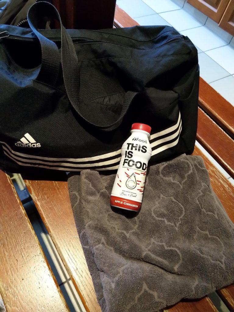 YFood im Gym als Snack nach dem Training oder in der Sauna