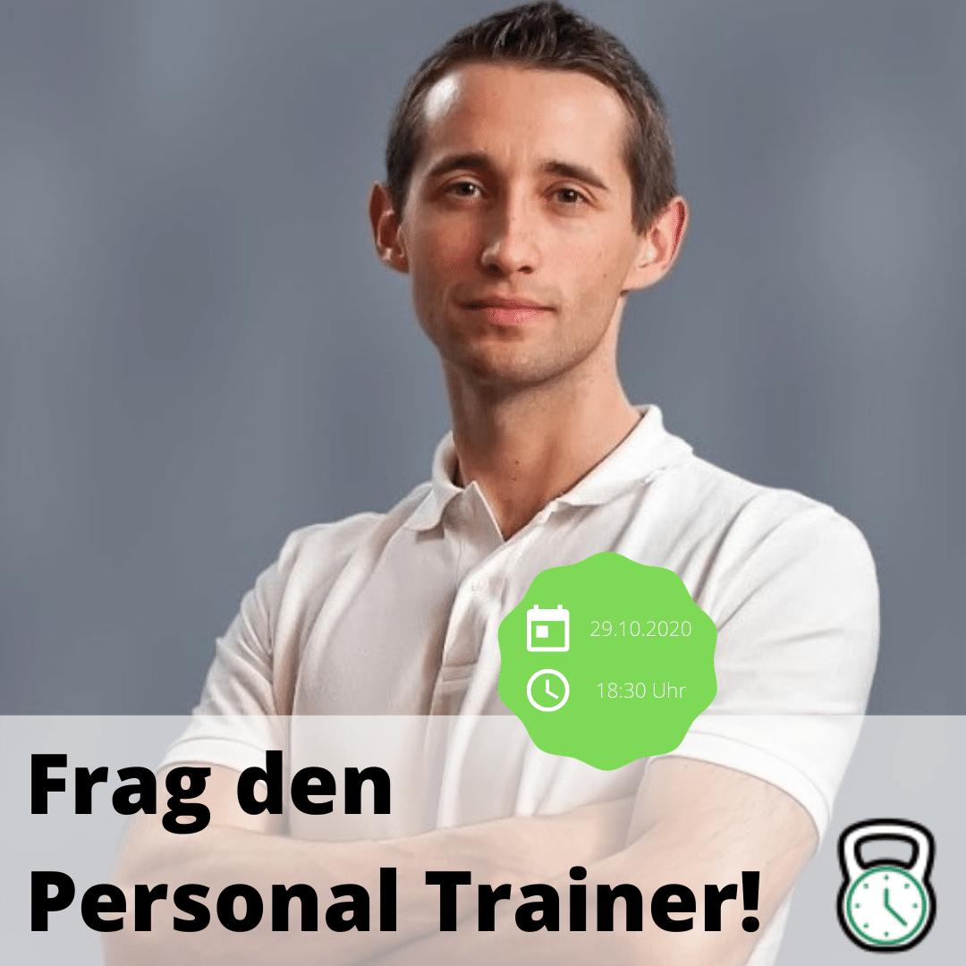 Live-Event: Frag den Personal Trainer!