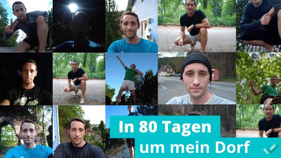 Streak Running – In 80 Tagen um mein Dorf