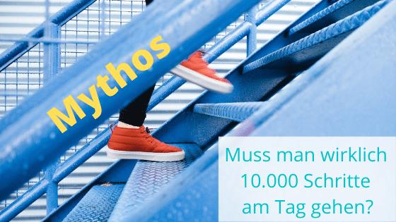 Muss man wirklich 10.000 Schritte am Tag gehen?