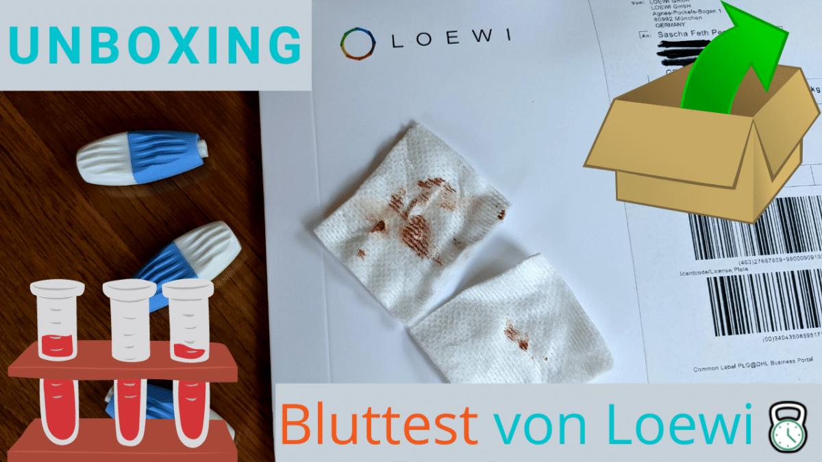 Unboxing Bluttest von Loewi